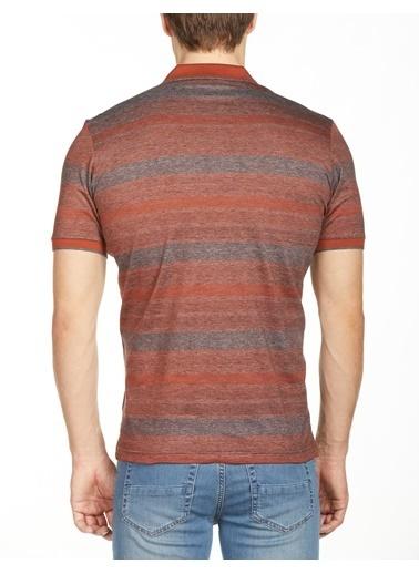 Bisse TS20Y20101 Polo Yaka T'Shirt Oranj